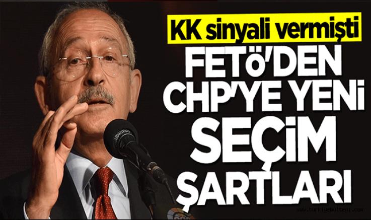 Kılıçdaroğlu sinyal vermişti... FETÖ'den CHP'ye yeni seçim şartları