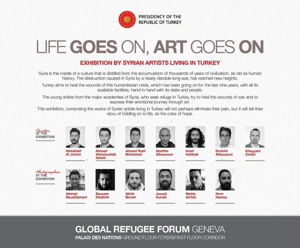 Küresel Mülteci Forumunda Türkiyeden Sergi Ve Konser