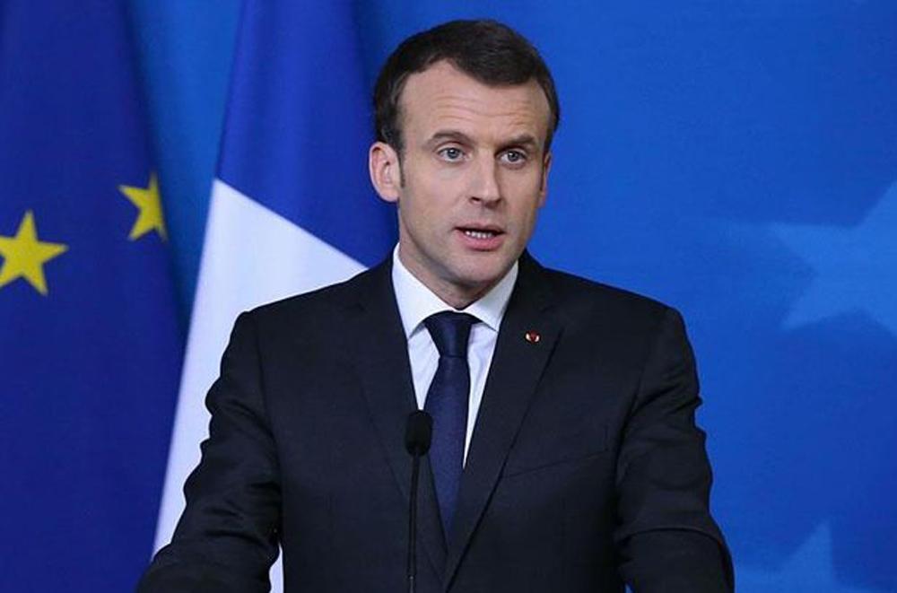 Macron Fransa'nın virüsle mücadele planını açıkladı