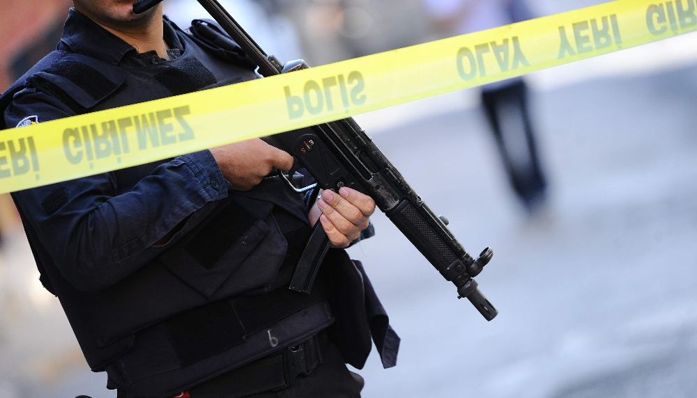 Malatyada Polis Noktasına Ateş Açıldı