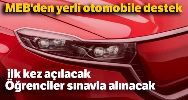 MEB'den Yerli Otomobile Nitelikli İş Gücü Desteği