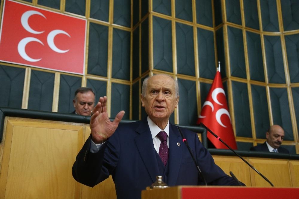 """MHP Genel Başkanı Bahçeli: """"Türk milletinin bu virüs kuşatmasını da yaracağına inanıyorum"""""""