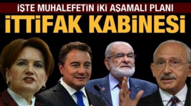 Millet İttifakı'nda 2023 seçim planı:İşte Millet İttifakı'nın kabinesi!..