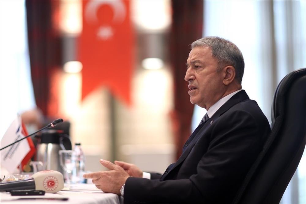 Milli Savunma Bakanı Hulusi Akar ve TSK Komuta Kademesi TUSAŞ'ı ziyaret etti