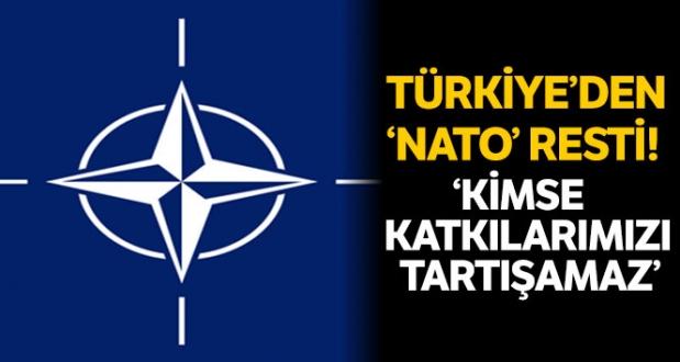 MSB, Türkiyenin Natoya Katkılarına İlişkin Bilgileri Paylaştı