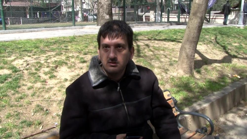 'Neden parkta oturuyorsun?' sorusuna