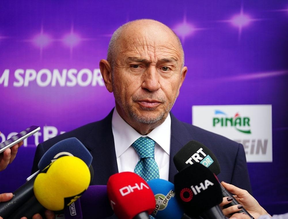 """Nihat Özdemir: """"Grupta Birinci Yada İkinci Olmamız Önemli Değil"""""""
