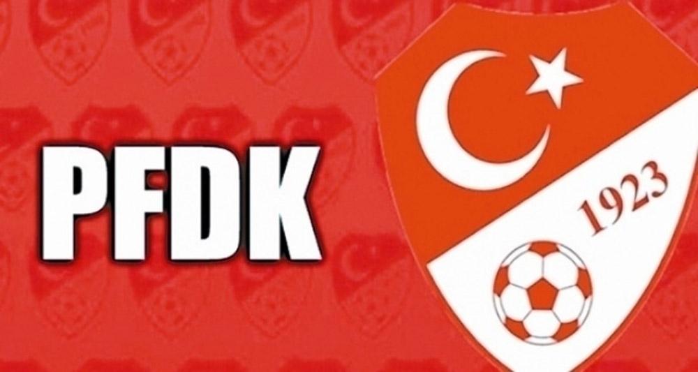 PFDK'dan Ahmet Nur Çebi'ye ceza