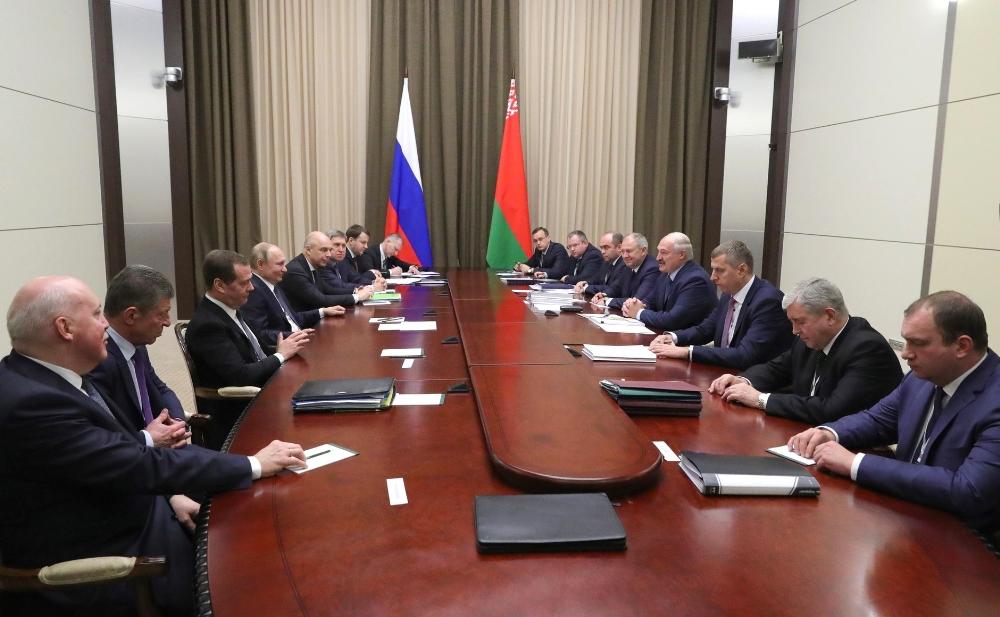 Putin Ve Lukaşenkodan 5 Buçuk Saatlik Gaz Pazarlığı