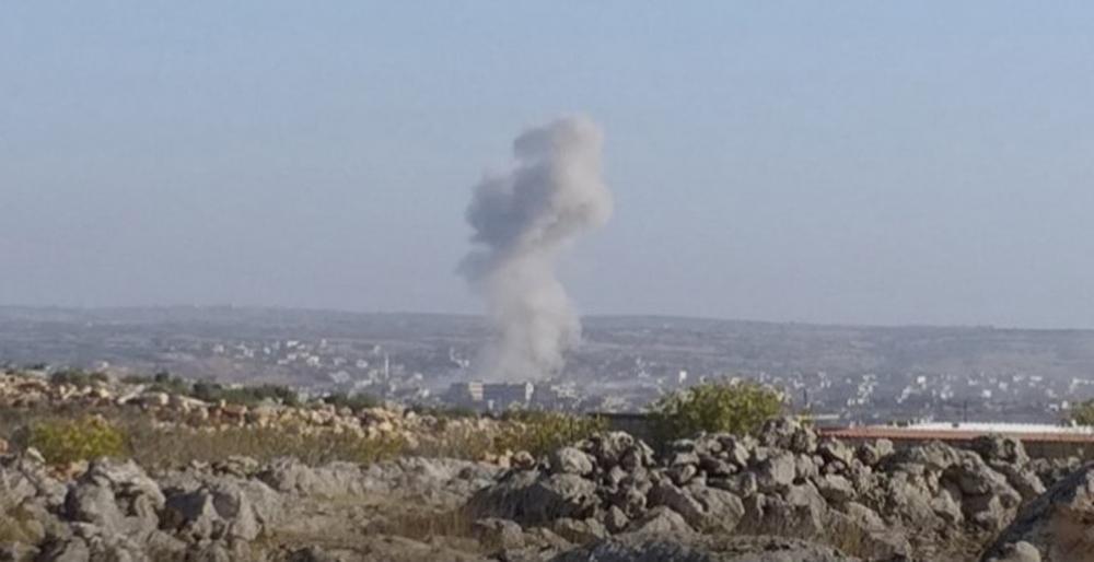Rus Uçakları İdlibe Saldırdı: 4 Ölü, 5 Yaralı
