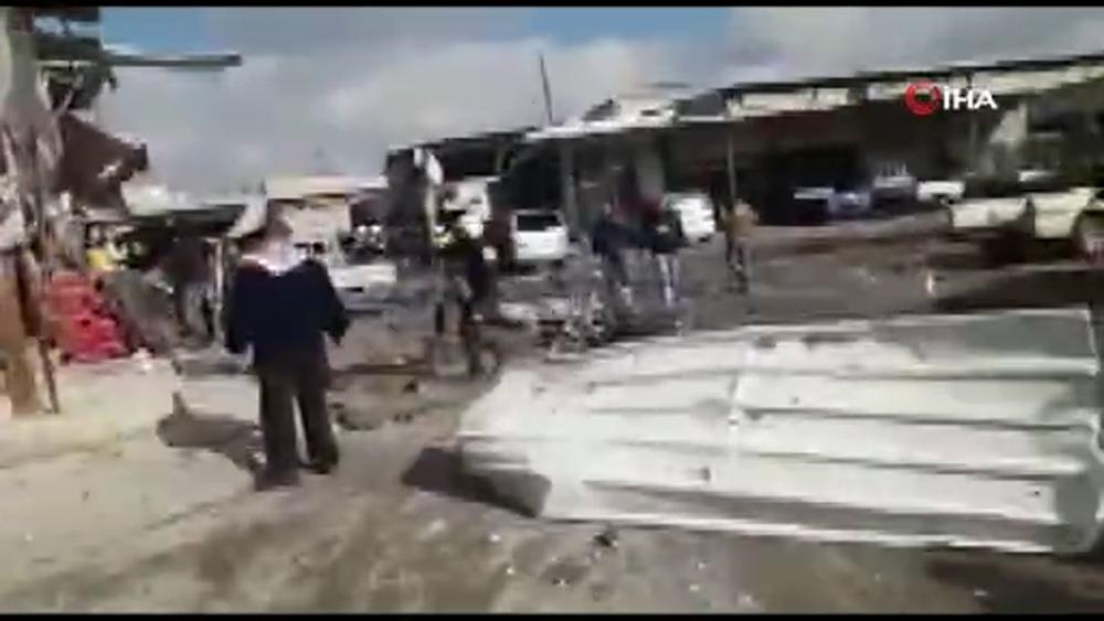 Rus Uçakları Maaret El Numanda Pazar Yerini Vurdu: 11 Ölü, 15 Yaralı