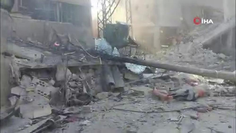 Rusya Ve Esad Rejimi İdlibde Pazar Yerini Bombaladı: En Az 2 Ölü