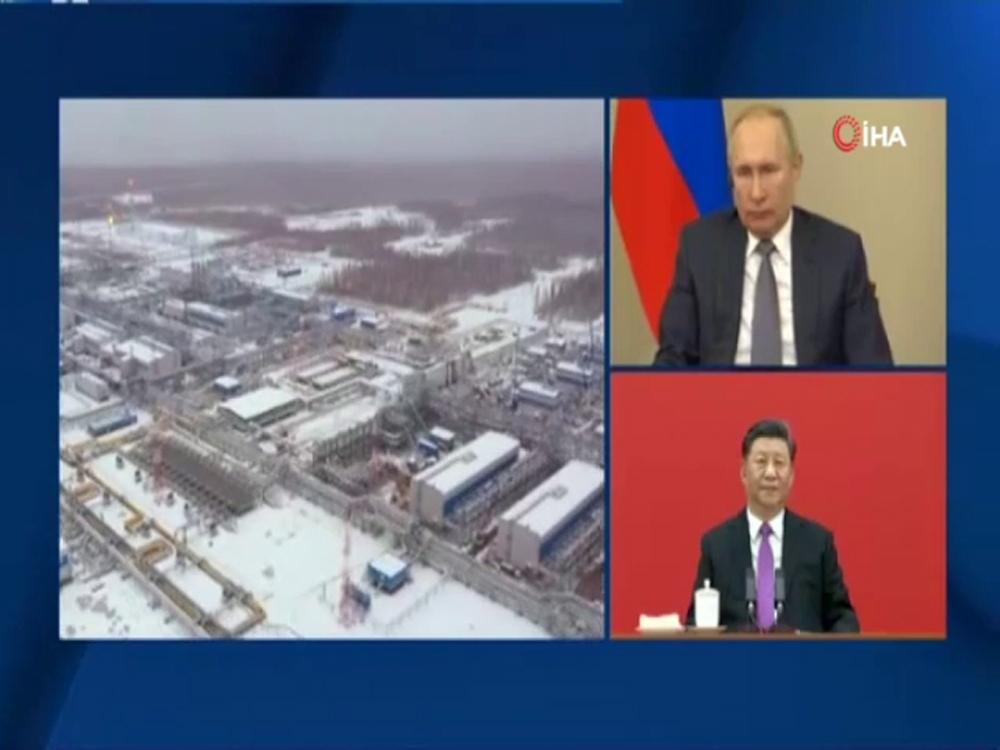 Rusyadan Çine Doğal Gaz Aktarımı Başladı