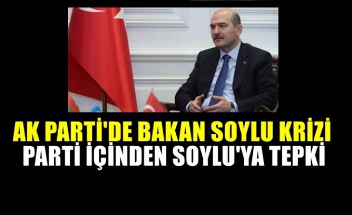 Süleyman Soylu'nun mesajı AK Parti'yi  karıştırdı!