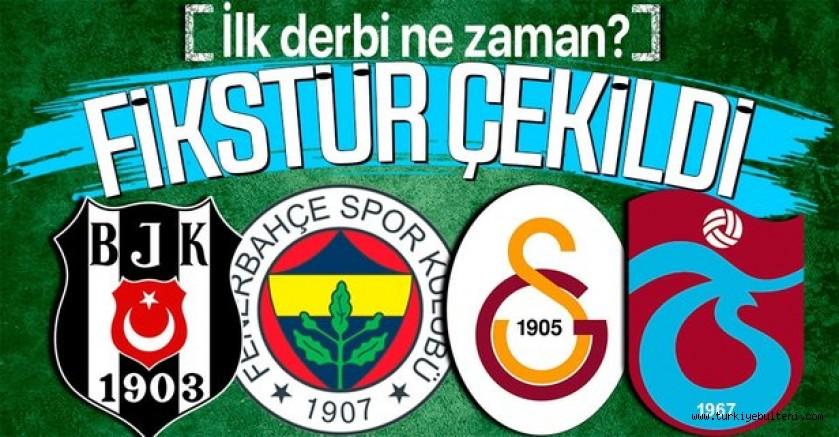 Süper Lig'de 2021-2022 sezonu fikstürü çekildi! İşte ilk hafta eşleşmeleri
