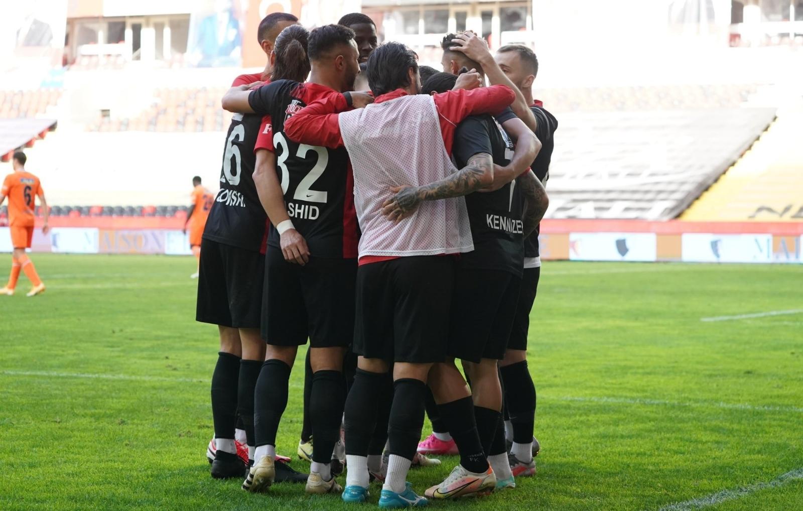 Süper Lig: Gaziantep FK: 2 - Medipol Başakşehir: 0 (Maç sonucu)