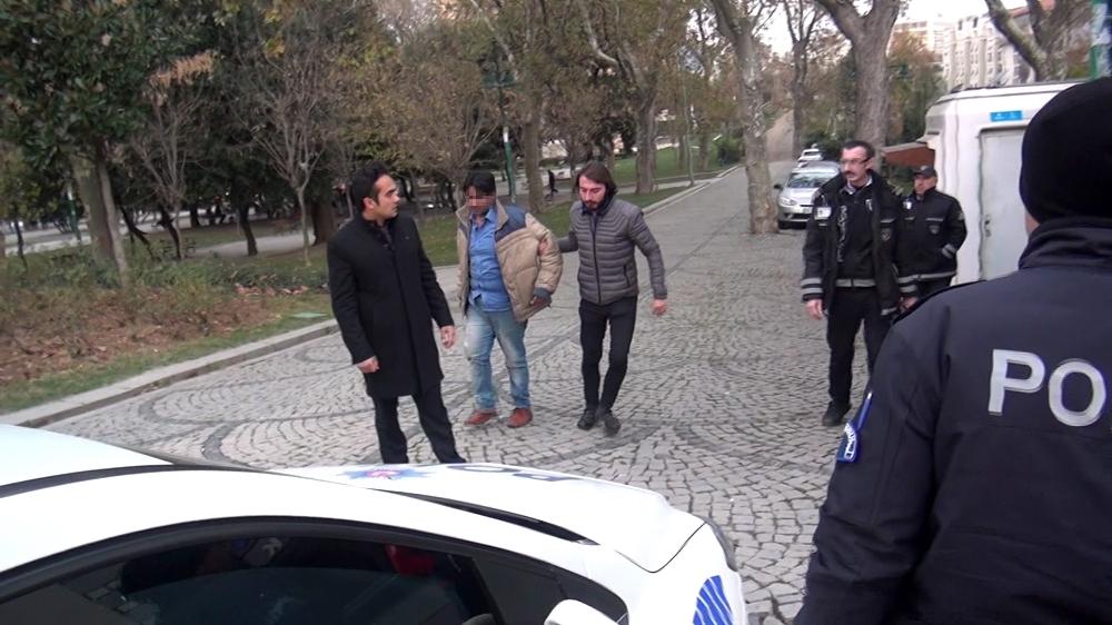 Taksimde Sözlü Tacize Gözaltı