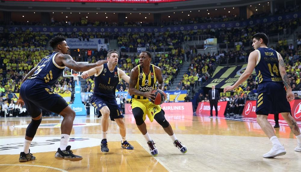 THY Euroleague: Fenerbahçe Beko: 65 - Real Madrid: 94