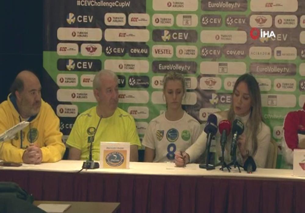 Thy Kadın Voleybol Takımı, Avrupada Avantaj Peşinde