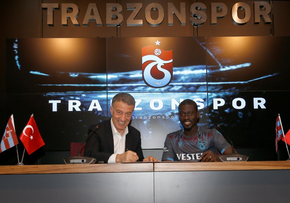 Trabzonspor, Senegalli Oyuncu Ndiaye İle Sözleşme İmzaladı