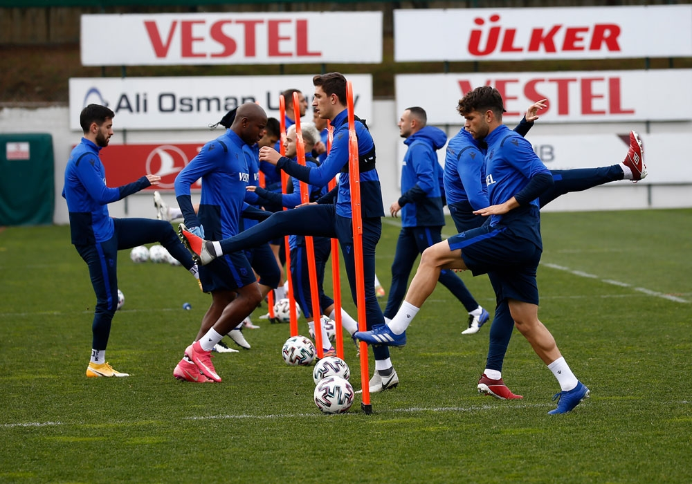 Trabzonspor, Yeni Malatyaspor maçı hazırlıklarına başladı