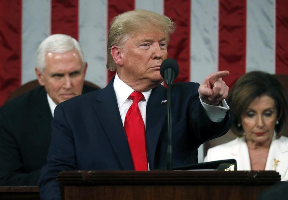 """Trump: """"Çin hükümeti ile salgın konusunda yakından çalışıyoruz"""""""