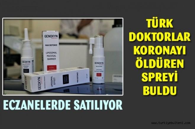 Türk doktorlar Koronavirüsü öldüren solisyonu buldu