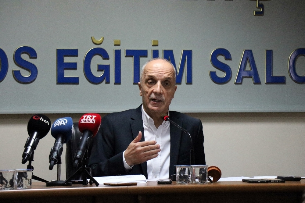 Türk-İş Başkanı Atalay Yeniden Başkan