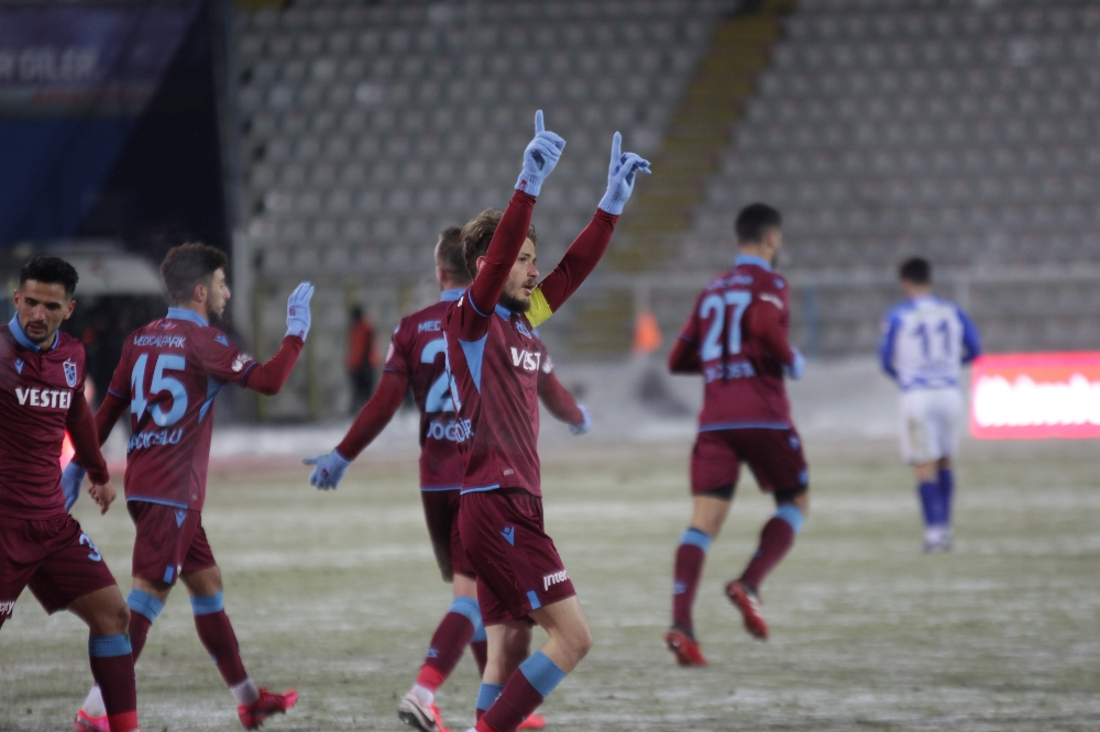 Türkiye Kupası: BB Erzurumspor: 1 - Trabzonspor: 4 (Maç Sonucu)