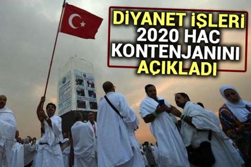 Türkiyenin Hac Kontenjanı 83 Bin 430'a Yükseltildi