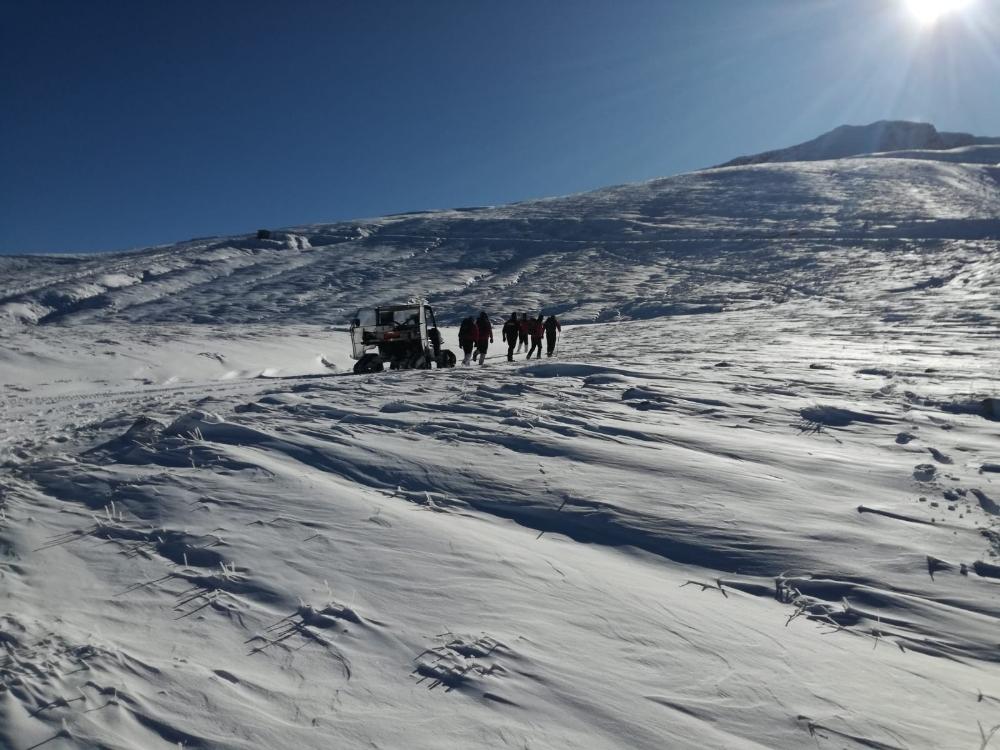 Uludağda Kayıp Dağcılar İçin Isıya Duyarlı 2 Arama Uçağı Getirildi