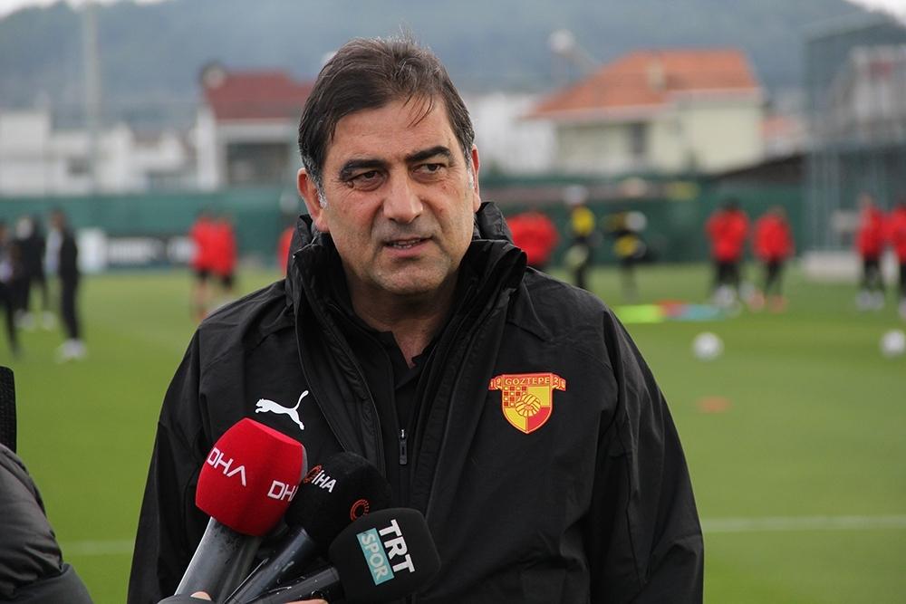 """Ünal Karaman: """"Oyuncularımı mücadeleleri nedeniyle kutluyorum"""""""