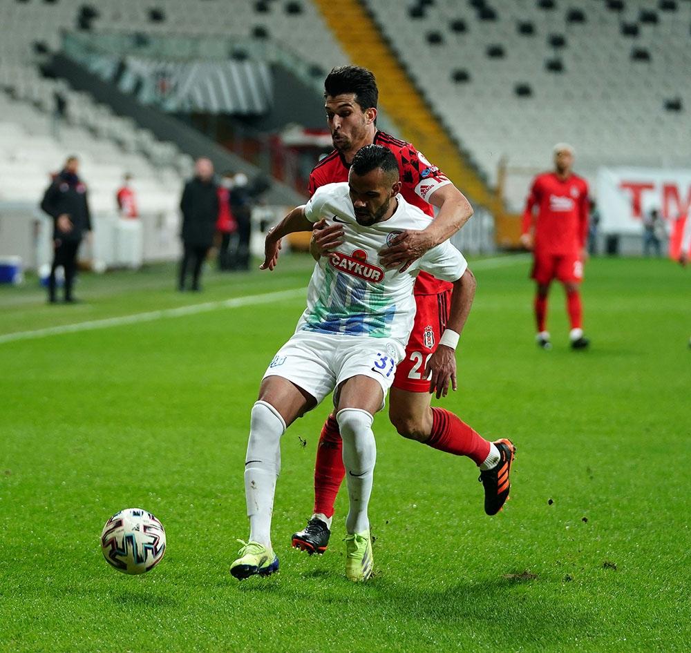 Ziraat Türkiye Kupası: Beşiktaş: 0 - Çaykur Rizespor. 0 (İlk yarı)
