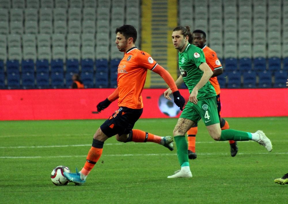 Ziraat Türkiye Kupası: Medipol Başakşehir: 1 - GMG Kırklarelispor: 1 (Maç sonucu)